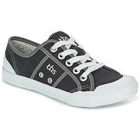 Schuhe Damen Sneaker Low TBS OPIACE Schwarz