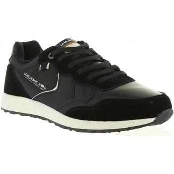 Schuhe Herren Sneaker Low Lois 84570 Negro