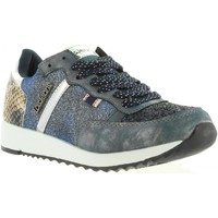 Schuhe Damen Sneaker Low Lois Jeans 83849 Azul