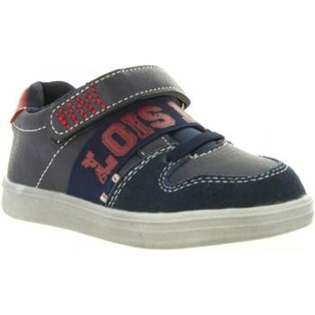 Schuhe Herren Sneaker Low Lois Jeans 46001 Azul