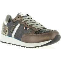 Schuhe Damen Sneaker Low Lois Jeans 83849 Negro
