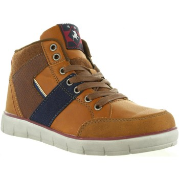 Schuhe Damen Sneaker High Lois 83836 Marrón