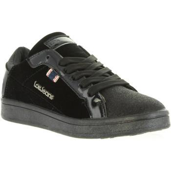Schuhe Damen Sneaker Low Lois Jeans 83858 Negro