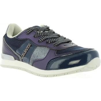 Schuhe Mädchen Sneaker Low Lois Jeans 83847 Azul