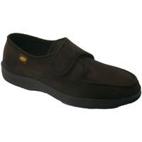 Schuhe Herren Hausschuhe Doctor Cutillas  Sneaker Klett sehr empfindliche Füße D Braun