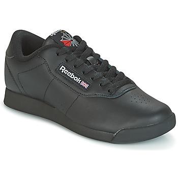 Schuhe Damen Sneaker Low Reebok Classic PRINCESS Schwarz