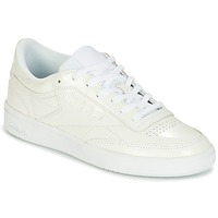 Schuhe Damen Sneaker Low Reebok Classic CLUB C 85 PATENT Weiss