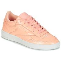 Schuhe Damen Sneaker Low Reebok Classic CLUB C 85 PATENT Rose