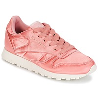 Schuhe Damen Sneaker Low Reebok Classic CLASSIC LEATHER SATIN Rose