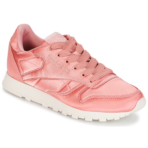 Reebok Classic CLASSIC LEATHER SATIN Rose  Schuhe Sneaker Low Damen 50