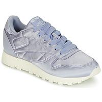 Schuhe Damen Sneaker Low Reebok Classic CLASSIC LEATHER SATIN Violett