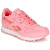 Schuhe Mädchen Sneaker Low Reebok Classic CLASSIC LEATHER SPRING Rose