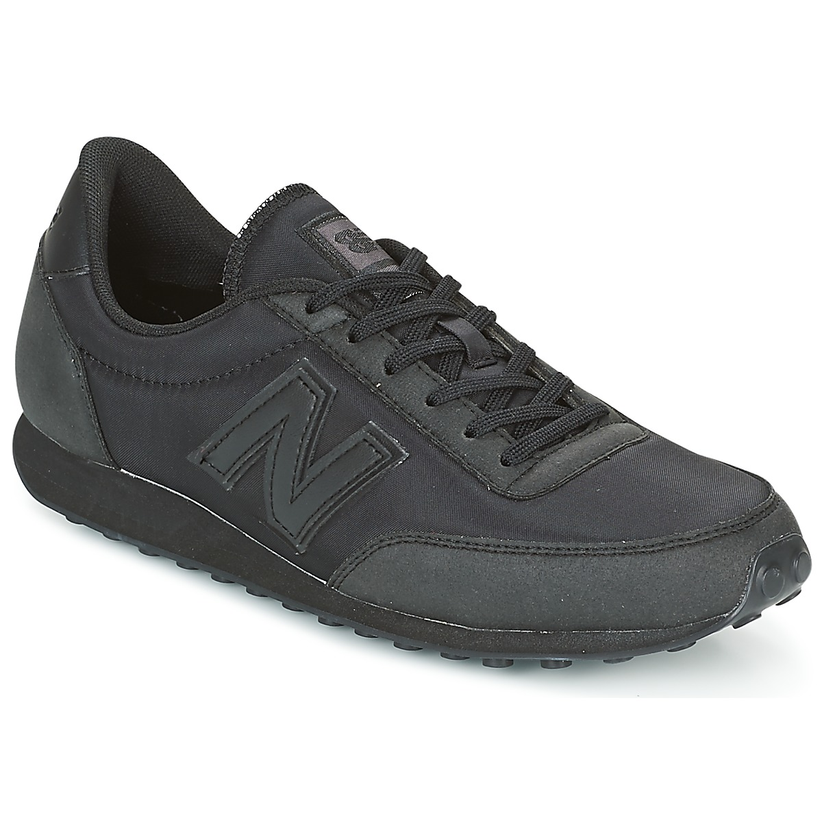 New Balance U410 Schwarz - Kostenloser Versand bei Spartoode ! - Schuhe Sneaker Low  63,99 €