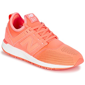 Schuhe Damen Sneaker Low New Balance WRL247 Orange