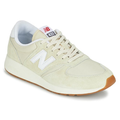 New Balance WRL420 Beige  Schuhe Sneaker Low Damen 79,99