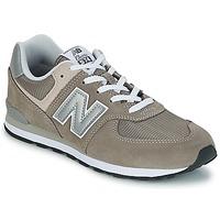 Schuhe Kinder Sneaker Low New Balance 574 Grau