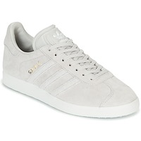 Schuhe Damen Sneaker Low adidas Originals GAZELLE W Grau
