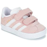 Schuhe Mädchen Sneaker Low adidas Originals GAZELLE CF I Rose