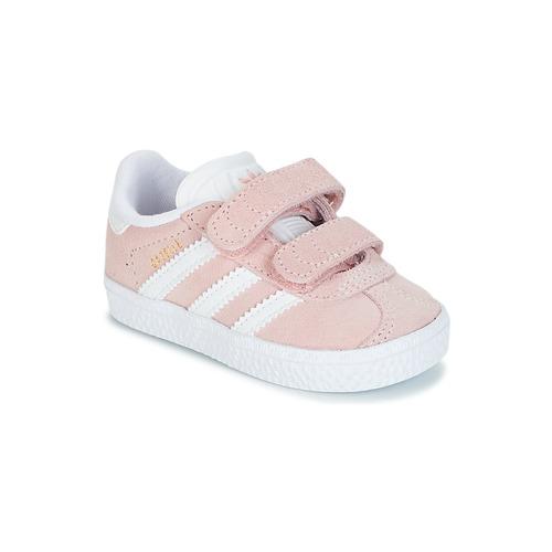 best service b9e53 f2bbc Schuhe Mädchen Sneaker Low adidas Originals GAZELLE CF I Rose