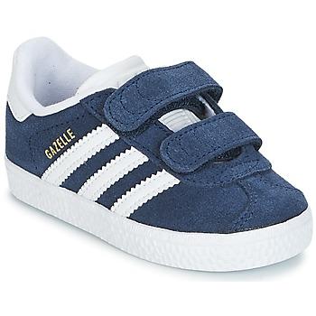 Schuhe Jungen Sneaker Low adidas Originals GAZELLE CF I Marine