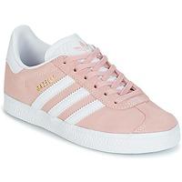 Schuhe Mädchen Sneaker Low adidas Originals GAZELLE C Rose