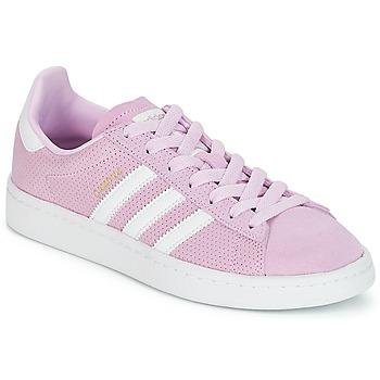 Schuhe Mädchen Sneaker Low adidas Originals CAMPUS J Rose