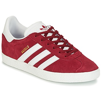 Schuhe Kinder Sneaker Low adidas Originals GAZELLE J Bordeaux
