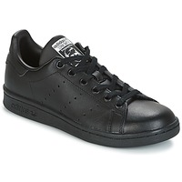 Schuhe Kinder Sneaker Low adidas Originals STAN SMITH J Schwarz