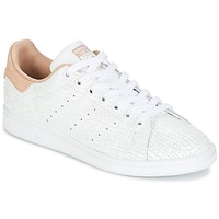 Schuhe Damen Sneaker Low adidas Originals STAN SMITH W Weiss / Rose