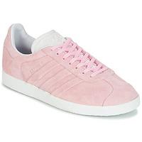 Schuhe Damen Sneaker Low adidas Originals GAZELLE STITCH Rose