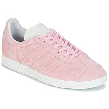 Schuhe Damen Sneaker Low adidas Originals GAZELLE STITCH Rose