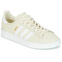 Schuhe Damen Sneaker Low adidas Originals CAMPUS Creme