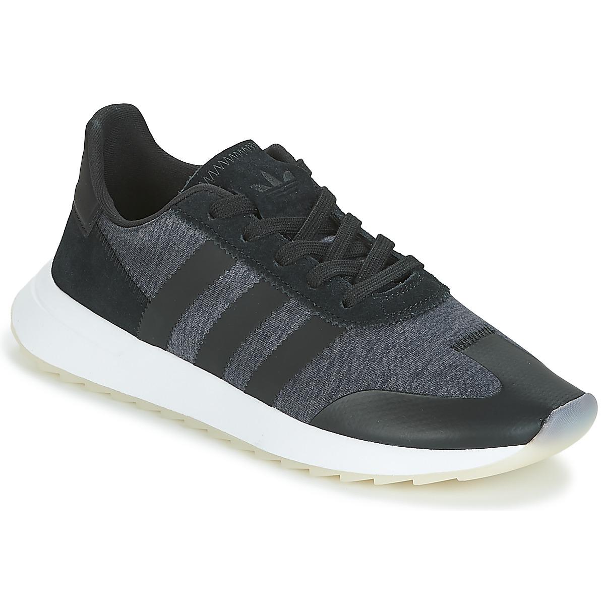 adidas Originals FLB RUNNER W Schwarz - Kostenloser Versand bei Spartoode ! - Schuhe Sneaker Low Damen 54,00 €