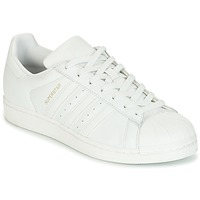 Schuhe Damen Sneaker Low adidas Originals SUPERSTAR Weiss