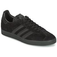 Schuhe Herren Sneaker Low adidas Originals GAZELLE Schwarz