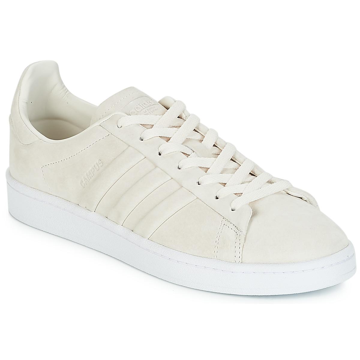 adidas Originals CAMPUS STITCH AND T Weiss - Kostenloser Versand bei Spartoode ! - Schuhe Sneaker Low  60,00 €