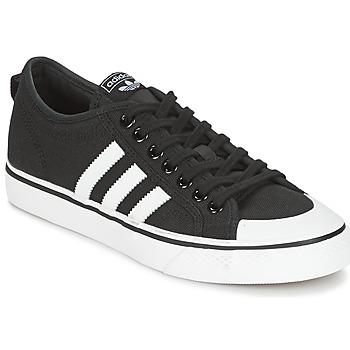 Schuhe Sneaker Low adidas Originals NIZZA Schwarz