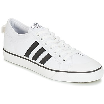 Schuhe Sneaker Low adidas Originals NIZZA Weiss