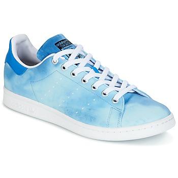 Schuhe Sneaker Low adidas Originals STAN SMITH PHARRELL WILLIAMS Blau