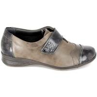 Schuhe Damen Derby-Schuhe Boissy Derby 7510 Noir Braun