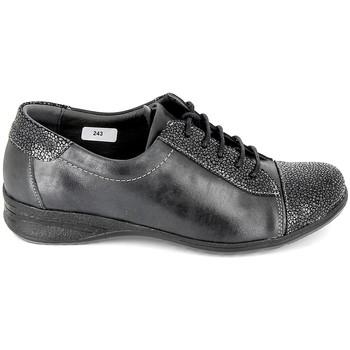 Schuhe Damen Sneaker Low Boissy Sneakers 7510 Noir Schwarz
