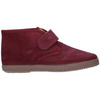 Schuhe Jungen Boots Natural World 525 Niño Burdeos rouge