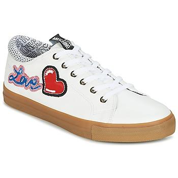 Schuhe Damen Sneaker Low Love Moschino JA15213G15 Weiss