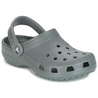 Schuhe Pantoletten / Clogs Crocs CLASSIC Grau