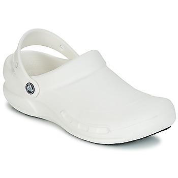 Schuhe Pantoletten / Clogs Crocs BISTRO Weiss