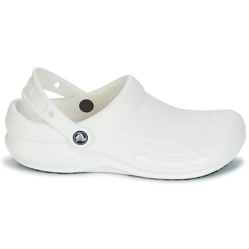 Crocs BISTRO Weiss Clogs  Schuhe Pantoletten / Clogs Weiss  40,49 58a47f
