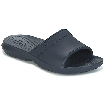 Schuhe Kinder Pantoletten Crocs CLASSIC SLIDE K Marine