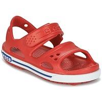Schuhe Kinder Sandalen / Sandaletten Crocs CROCBAND II SANDAL PS Rot