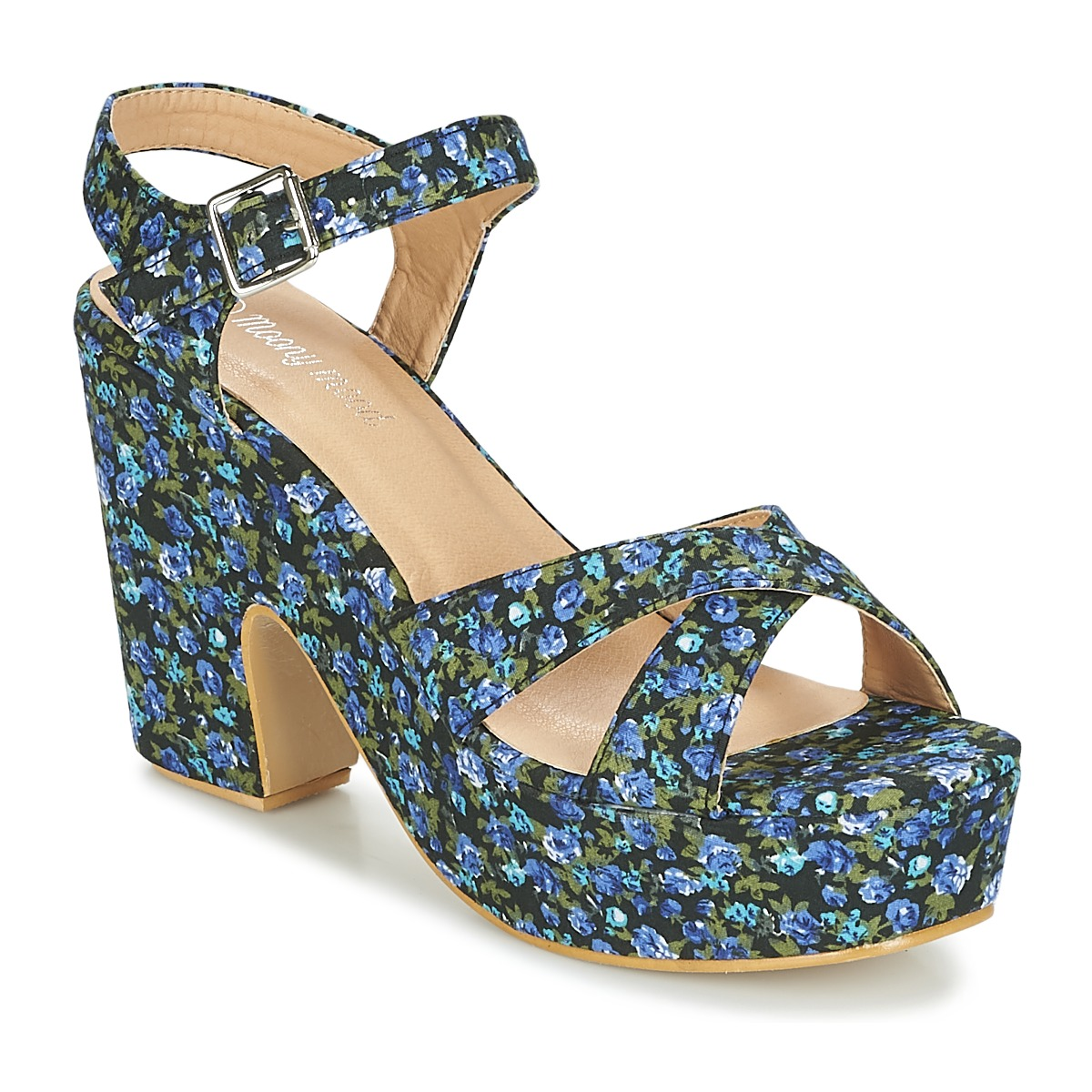 Moony Mood INADA Blau - Kostenloser Versand bei Spartoode ! - Schuhe Sandalen / Sandaletten Damen 29,99 €