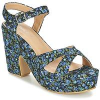 Schuhe Damen Sandalen / Sandaletten Moony Mood INADA Blau